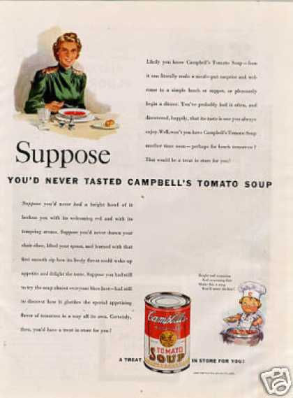 Campbell's Tomato Soup (1940)