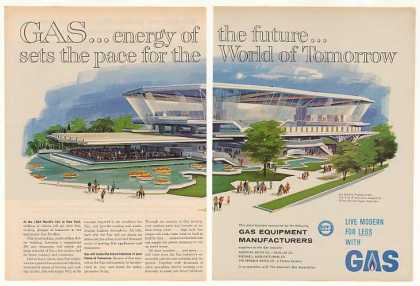 New York World's Fair Gas Industry Pavilion 2-P (1963)