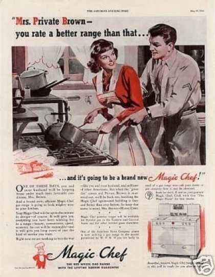Magic Chef Range (1944)