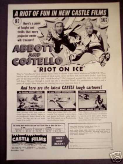 Castle Films 8mm Home Movies Abbott & Costello (1949)