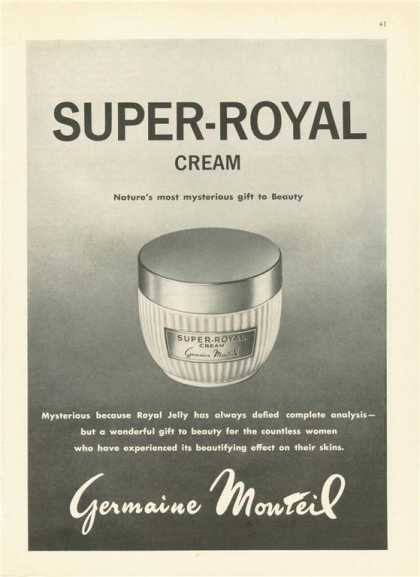 Germaine Monteil Super Royal Cream Jar (1963)