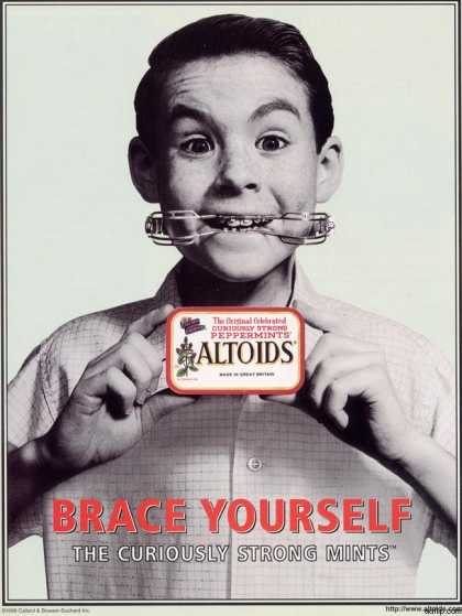 Callard &amp; Bowser Suchard&#8217;s Altoids (1998)