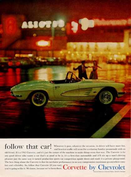 Chevrolet Follow That Car... Corvette (1961)