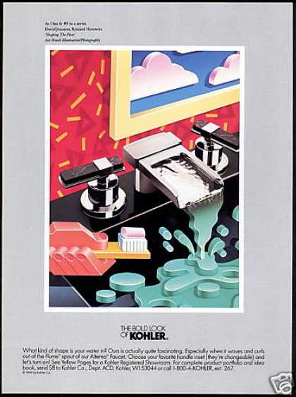 Kohler Faucets Shaping the Flow 9th in Series (1990)