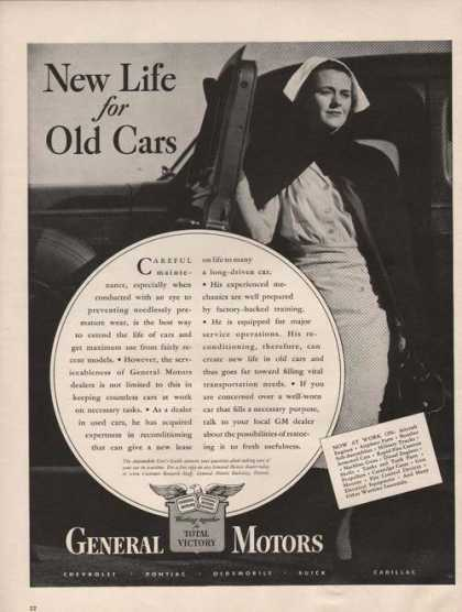 General Motors New Life for Old Cars (1942)