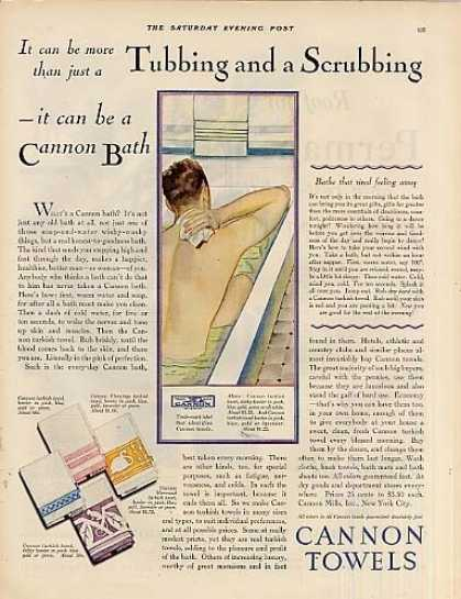 Cannon Towels (1928)