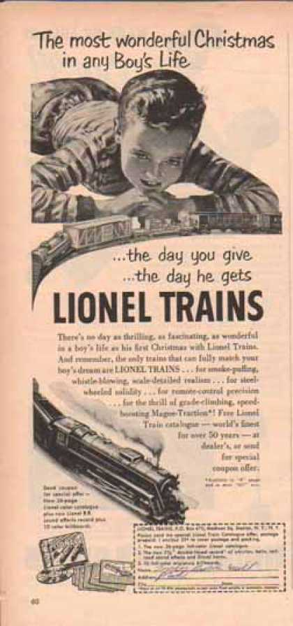 Lionel Trains – The most wonderful gift (1951)