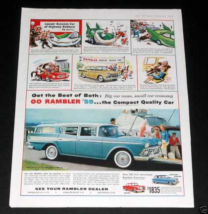 Rambler, Blue Cross Country Wagon (1959)