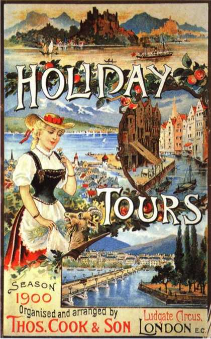 Cook's, Tour Operators Thomas Cook Company, UK (1890)