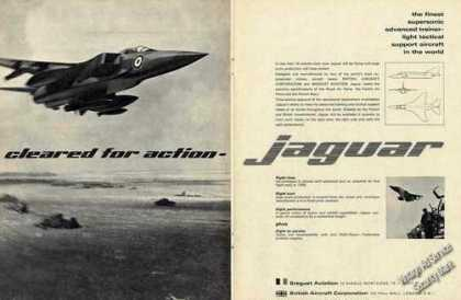 Jaguar Photo Brequet Aviation British Aircraft (1967)