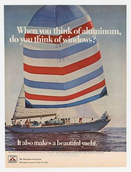 SA Long Ondine Race Yacht Aluminum Association (1967)