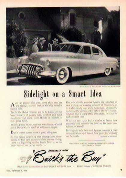Buick Car – 1950 Buick Special – Sold (1949)