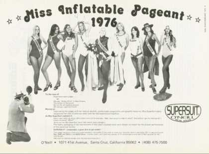 Supersuit O'neill Miss Inflatable Pageant (1976)