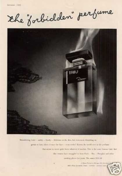 Dana Tabu Perfume (1942)