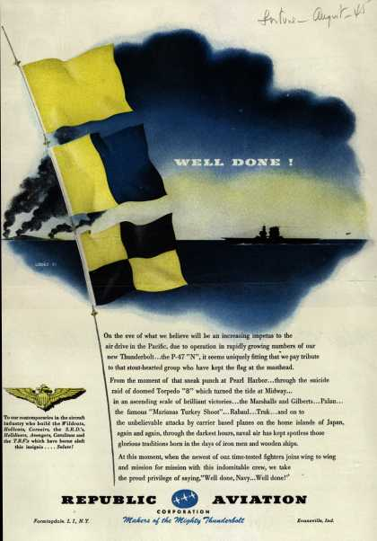 Republic Aviation Corporation – Well Done (1945)