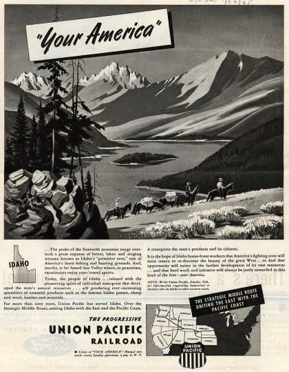 "Union Pacific Railroad – ""Your America"" (1945)"