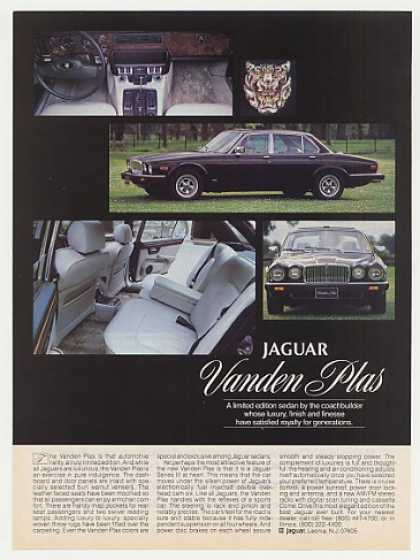 Jaguar Vanden Plas Limited Edition Sedan Photo (1982)