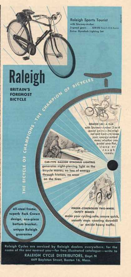 Raleigh Bicycle Bike (1950)