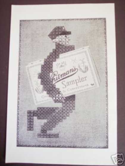Original Ad Whitman's Sampler Chocolates Candy (1925)