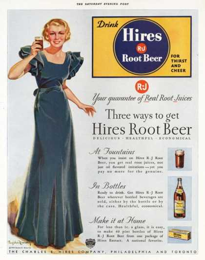Hires, Root Beer, USA (1930)