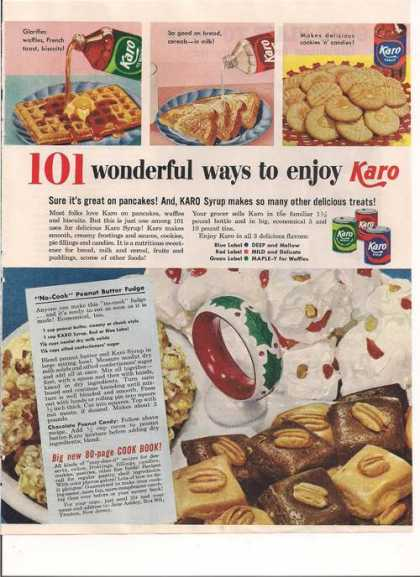 Karo Syrup Fudge Recipe (1953)