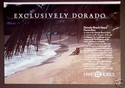 Hyatt Dorado Beach Hotel Puerto Rico Photo (1985)