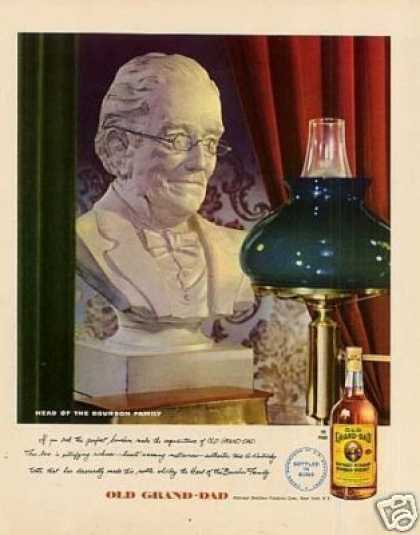 Old Grand-dad Bourbon Whiskey (1947)