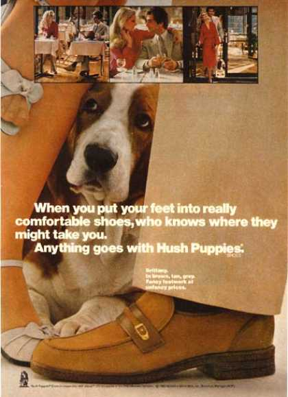 Hush Puppie's Brittany shoes (1980)