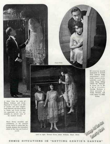 """Getting Gertie's Garter"" Photos Theatre Feature (1921)"