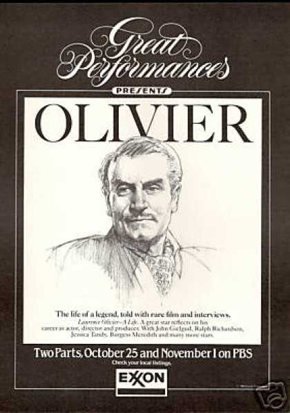 Laurence Olivier A Life PBS Special Exxon (1985)