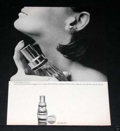 Old , Gurlain Spray Cologne, Paris (1964)