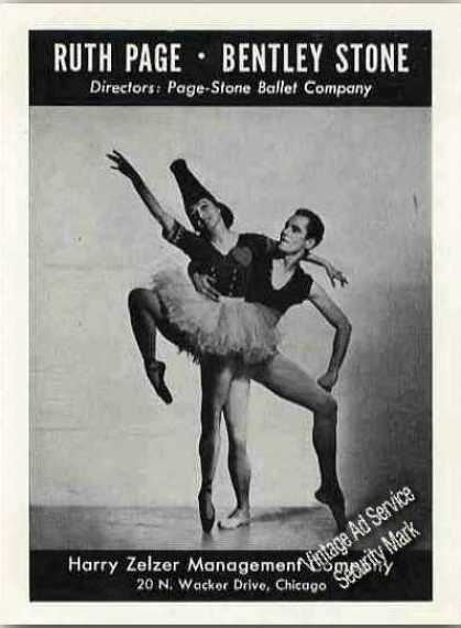Ruth Page & Bentley Stone Modern Dance Feature (1941)