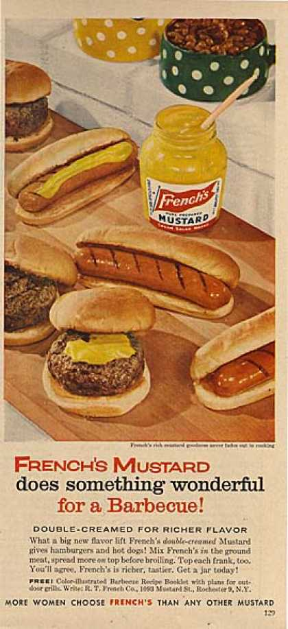 French's Mustard at the Barbecue (1956)