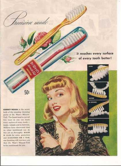 Dr Wests Tooth Brush (1946)