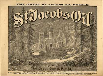 St. Jacobs Oil &#8211; The Great St. Jacobs Oil Puzzle