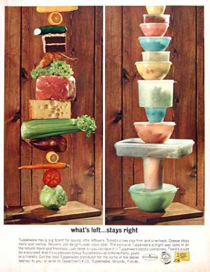 Tupperware Containers (1962)