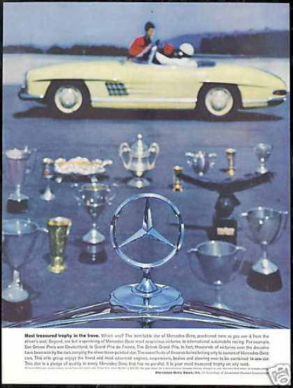 Mercedes Benz Convertible 300 SL 300SL Trophy (1961)