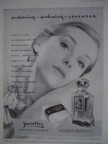 Yardley English Lavender Perfume (1943)
