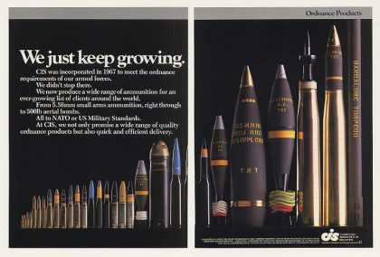'86 CIS Chartered Industries Singapore Ammunition 2P (1986)