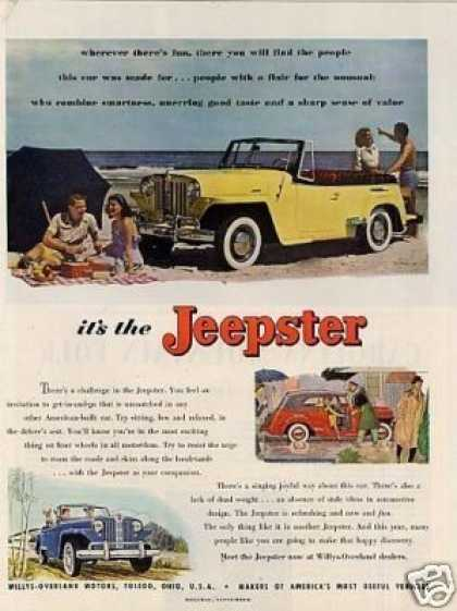 Willys-overland Jeepster (1948)