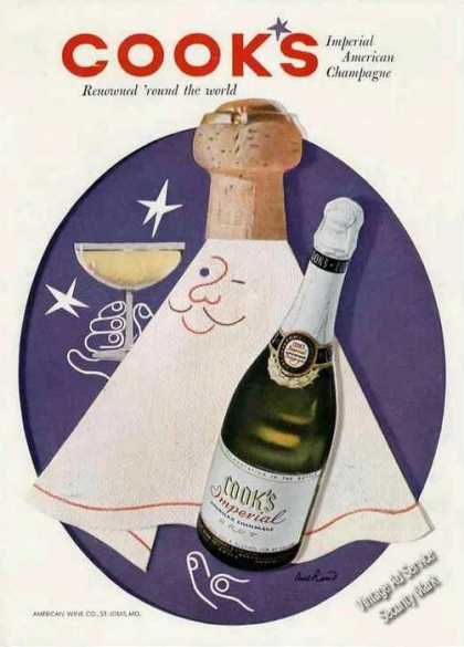 Cooks Imperial American Champagne Nice Color (1954)