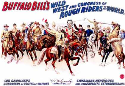 Buffalo Bill's Wild West, Cavaliers Heroiques