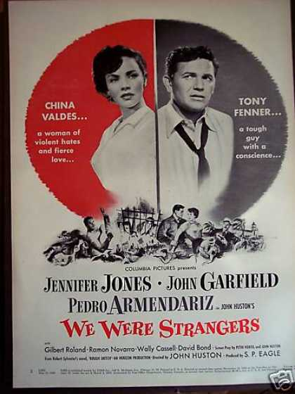 Jennifer Jones We Were Strangers Movie (1949)