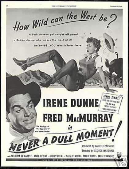 Fred MacMurray Irene Dunne Photo Vintage Movie (1950)