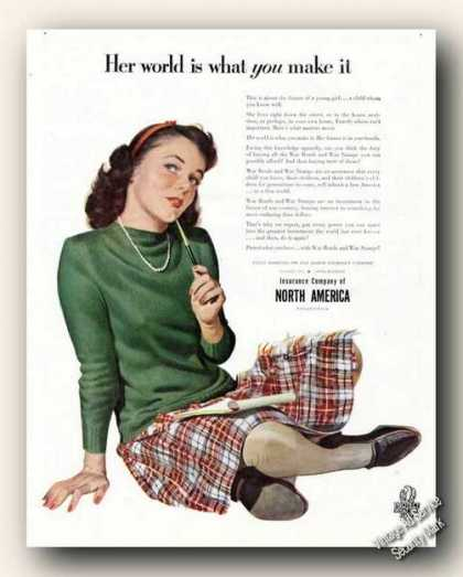 Her World Is What You Make It Ina Insurance (1943)