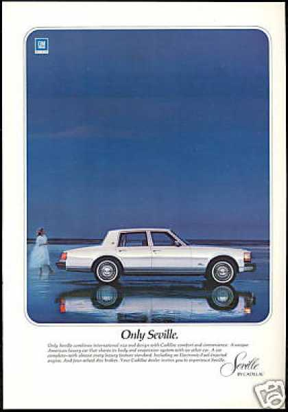Cadillac Seville Photo Vintage Car (1977)