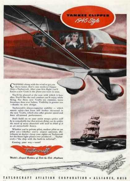 Taylorcraft Yankee Clipper Alliance Oh (1945)