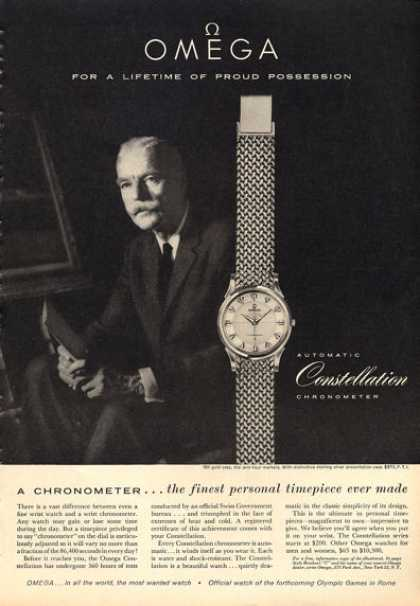 Omega Constellation Chronometer Watch (1960)