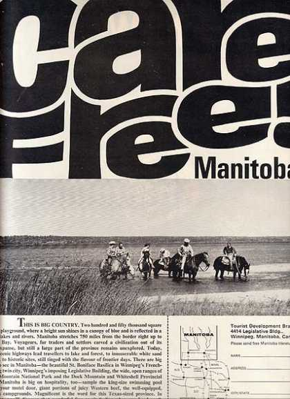 Manitoba's Travel to this Canadian Province (1964)