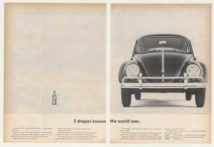 VW Volkswagen Beetle Coke Bottle Shapes (1962)